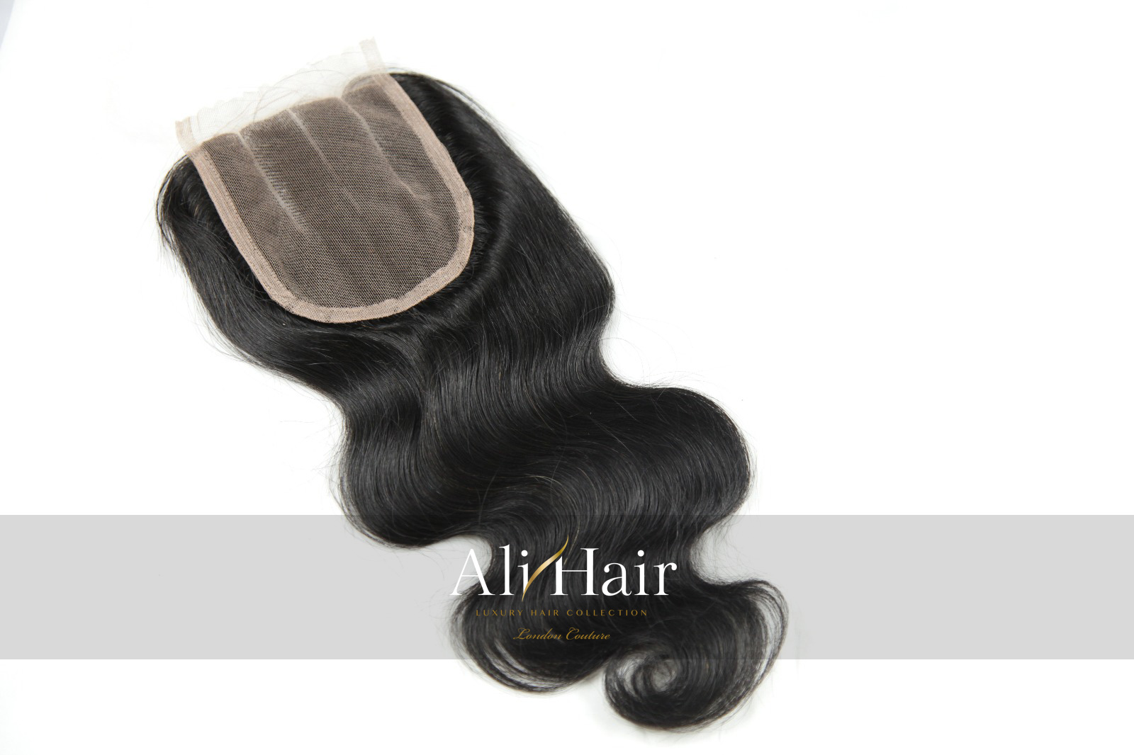 AliHair Brazilian Body Wave  Closure Human Gold Virgin Hair