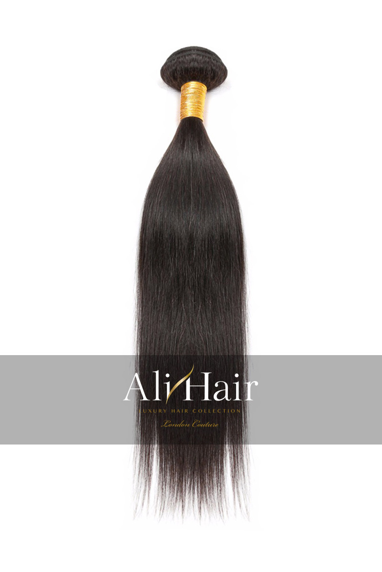 AliHair Brazilian Straight Bundle Gold Virgin Hair