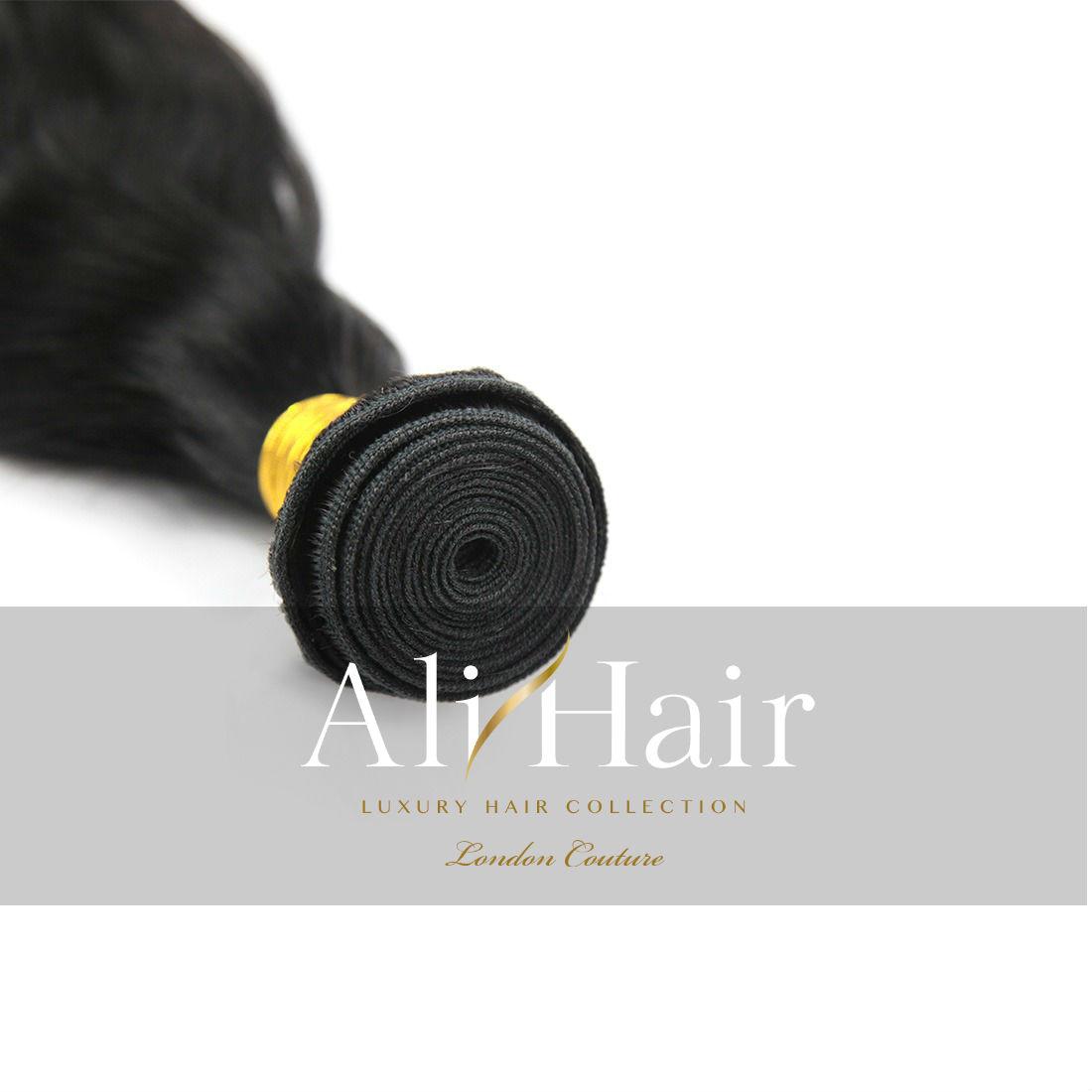 AliHair Brazilian Natural Wave Bundle Gold Virgin Hair