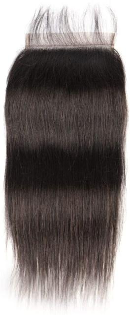 AliHair Brazilian 6x6 Straight Closure Human Gold Virgin Hair
