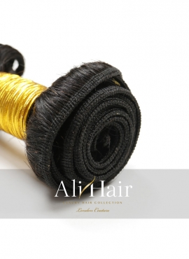 AliHair Brazilian Deep Wave Bundle Gold Virgin Hair