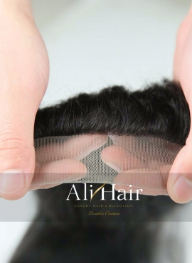 AliHair Brazilian 4x4 Kinky Straight Closure Human Gold Virgin Hair